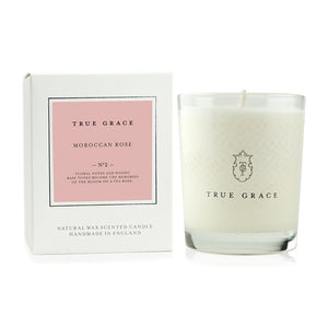 True Grace Moroccan Rose Candle