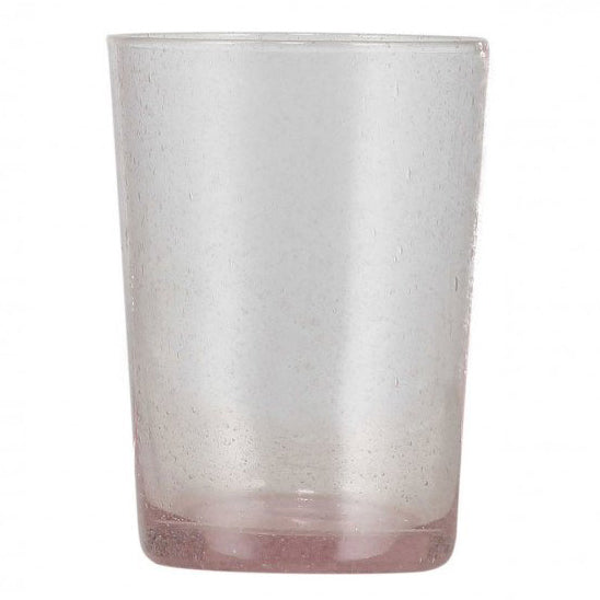 Old Rose Handmade Glass Tumbler