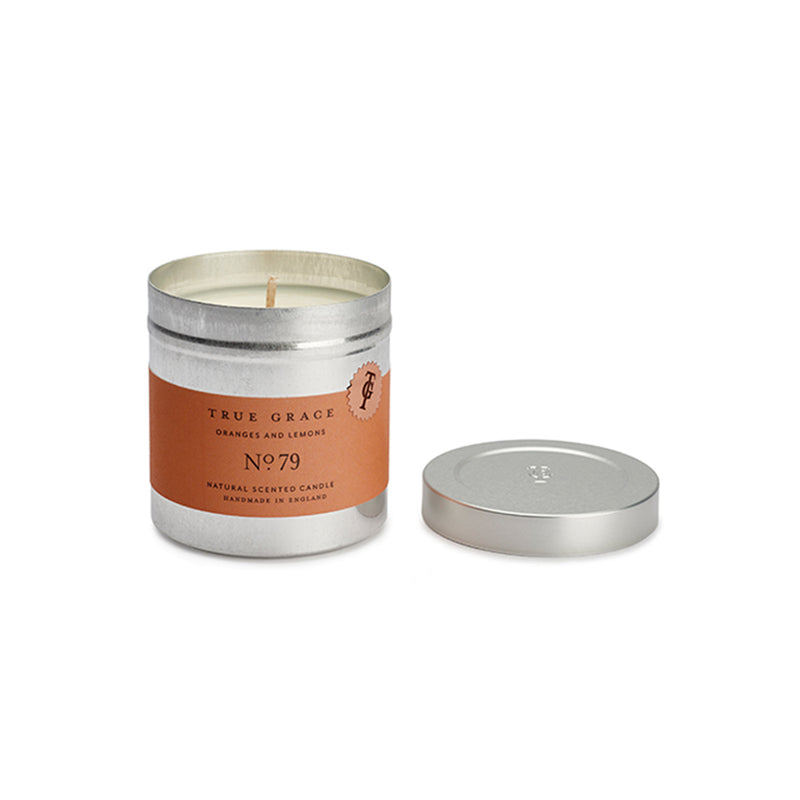 True Grace Oranges and Lemons Tin Candle