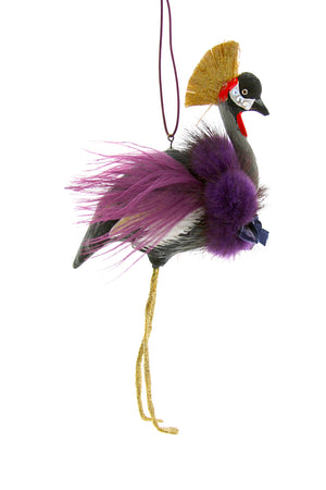 Crowned Crane Decoration