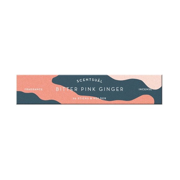 Bitter Pink Ginger Incense