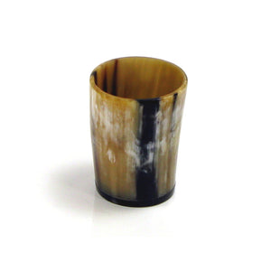 Polished Horn Whiskey Beaker