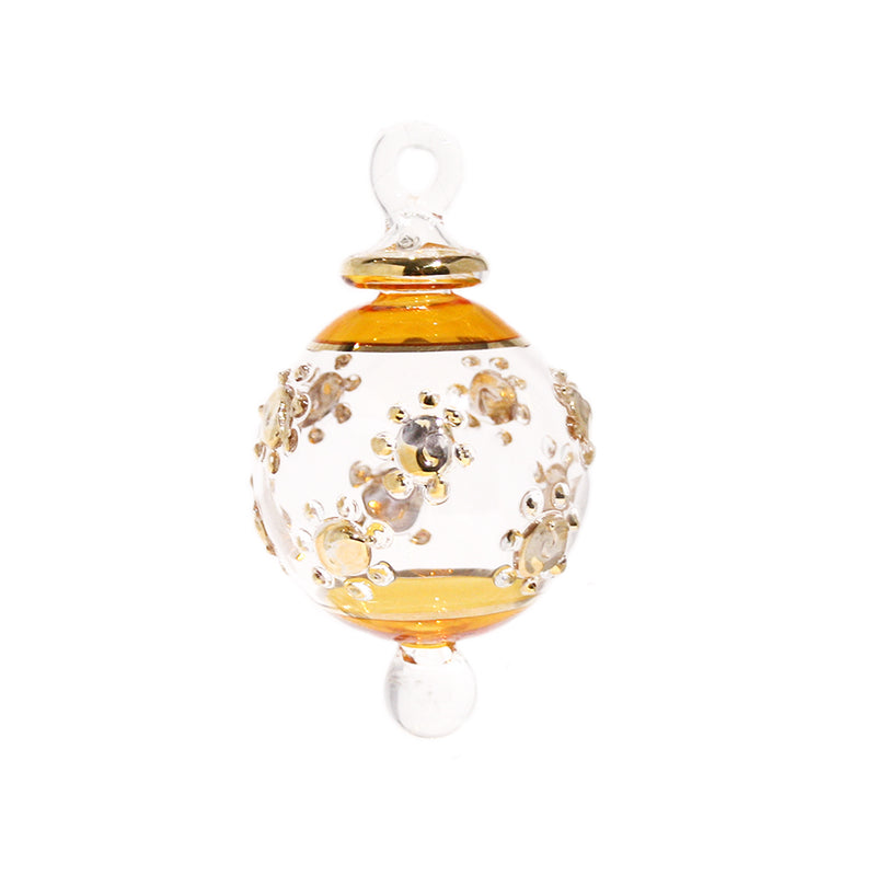 Posy Bauble in Yellow & Gold, Small