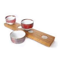 Condiment Bowl Set In Reds