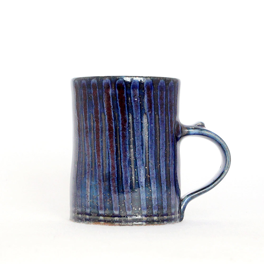 Red & Blue Stripe Mug