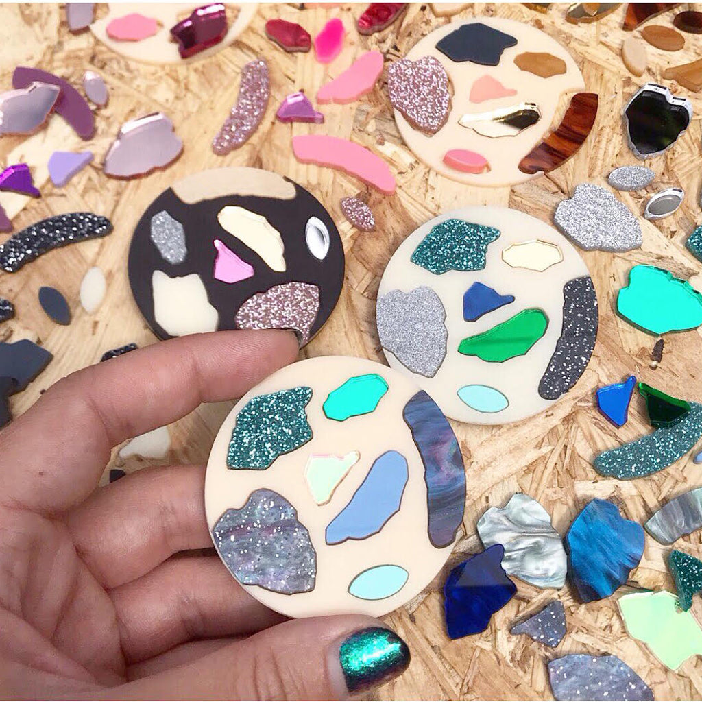 Acrylic Terrazzo Brooch Making Workshop - 2nd May 2020