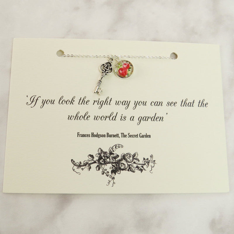 The Secret Garden Key Necklace