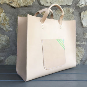 Shopper Leather Bag