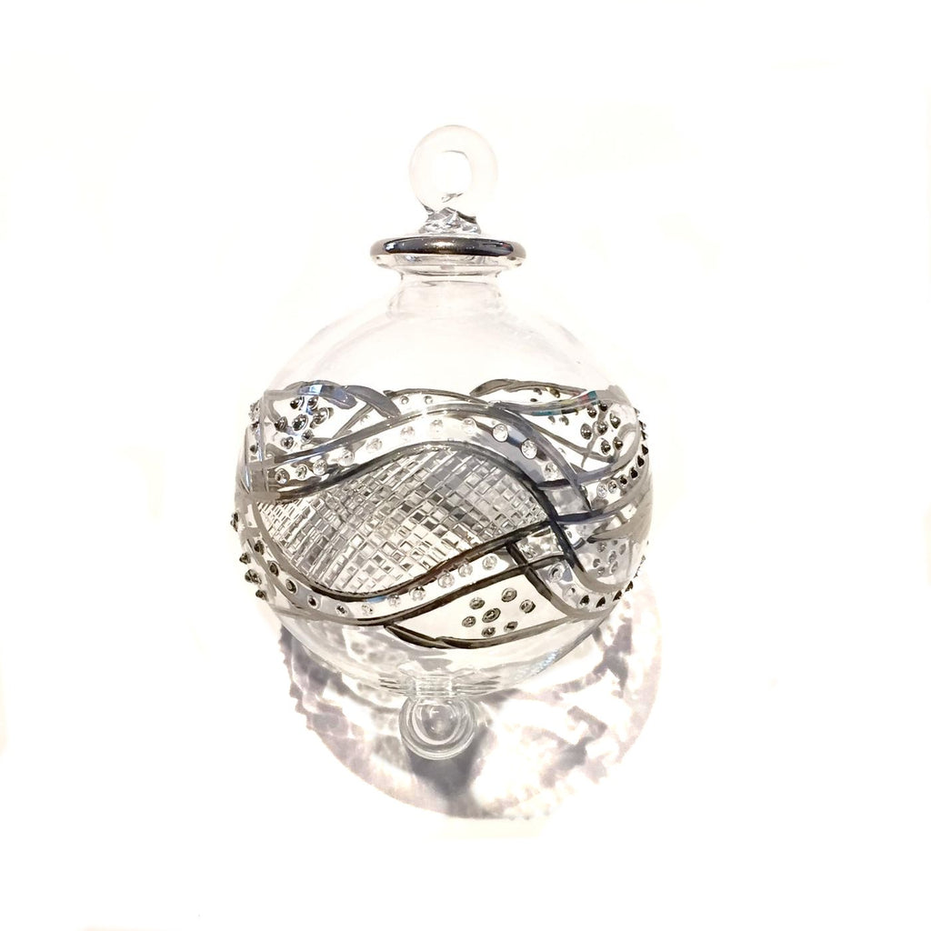 Silver Garland Bauble