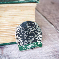Cunning Snake - Magical House Enamel Pin