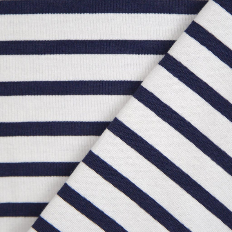 Navy & White Stripe Brody Dress