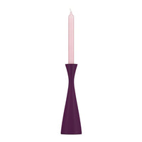 Tall Purple Candleholder