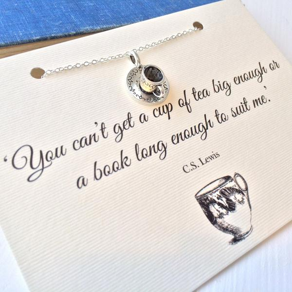 C.S. Lewis, Teacup Necklace