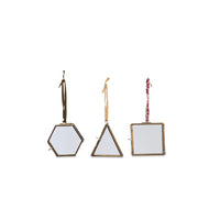 Tiny Square Metal Photograph Frame