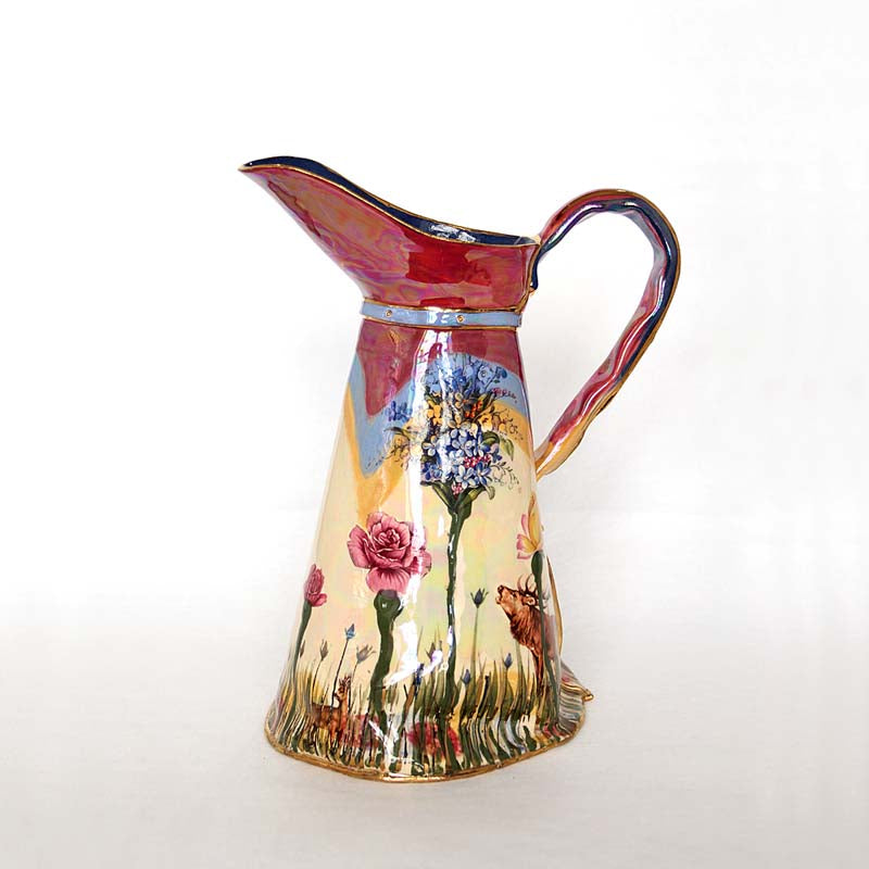 Large Secret Garden Ewer