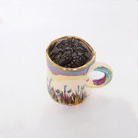 Secret Garden Turquoise Cup - Small