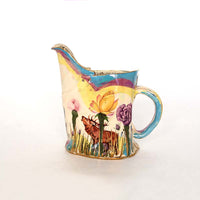 Secret Garden Pink Jug - Medium