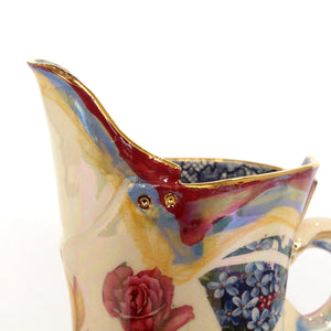 Secret Garden Small Jug Blue