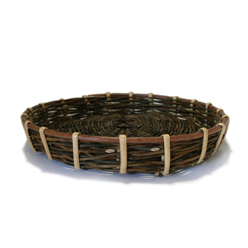 Large Shallow tray/food basket.