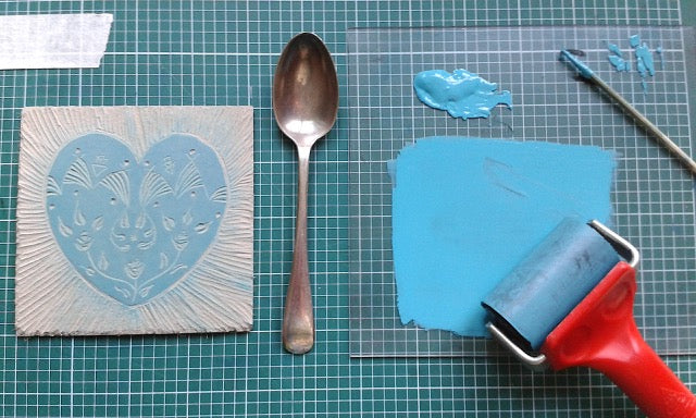 Lino Printing Mothers Day Cards 23rd March 2019