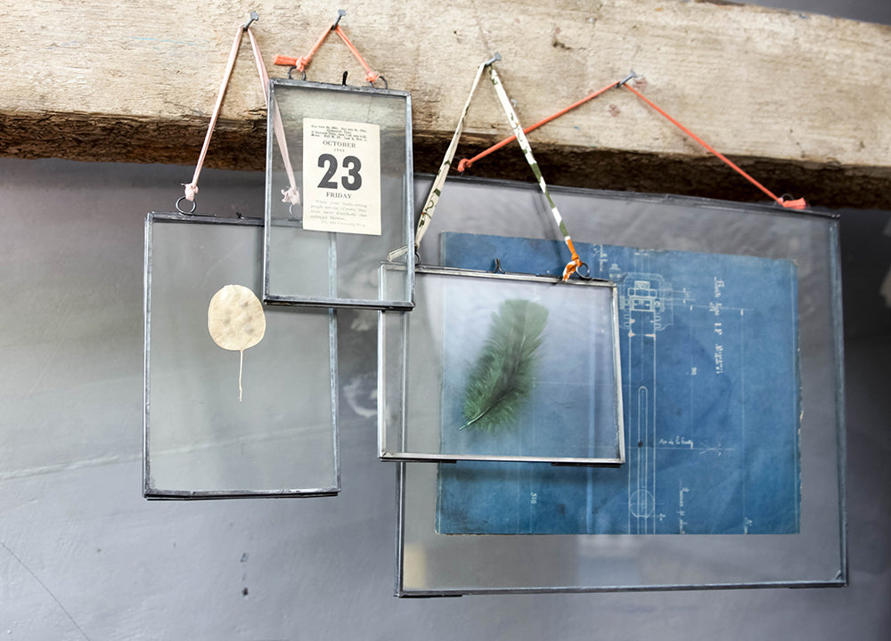 Extra Large Zinc & Glass Frame