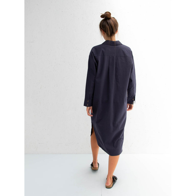 Navy Becca Dress