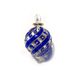 Small Blue Mistral Bauble