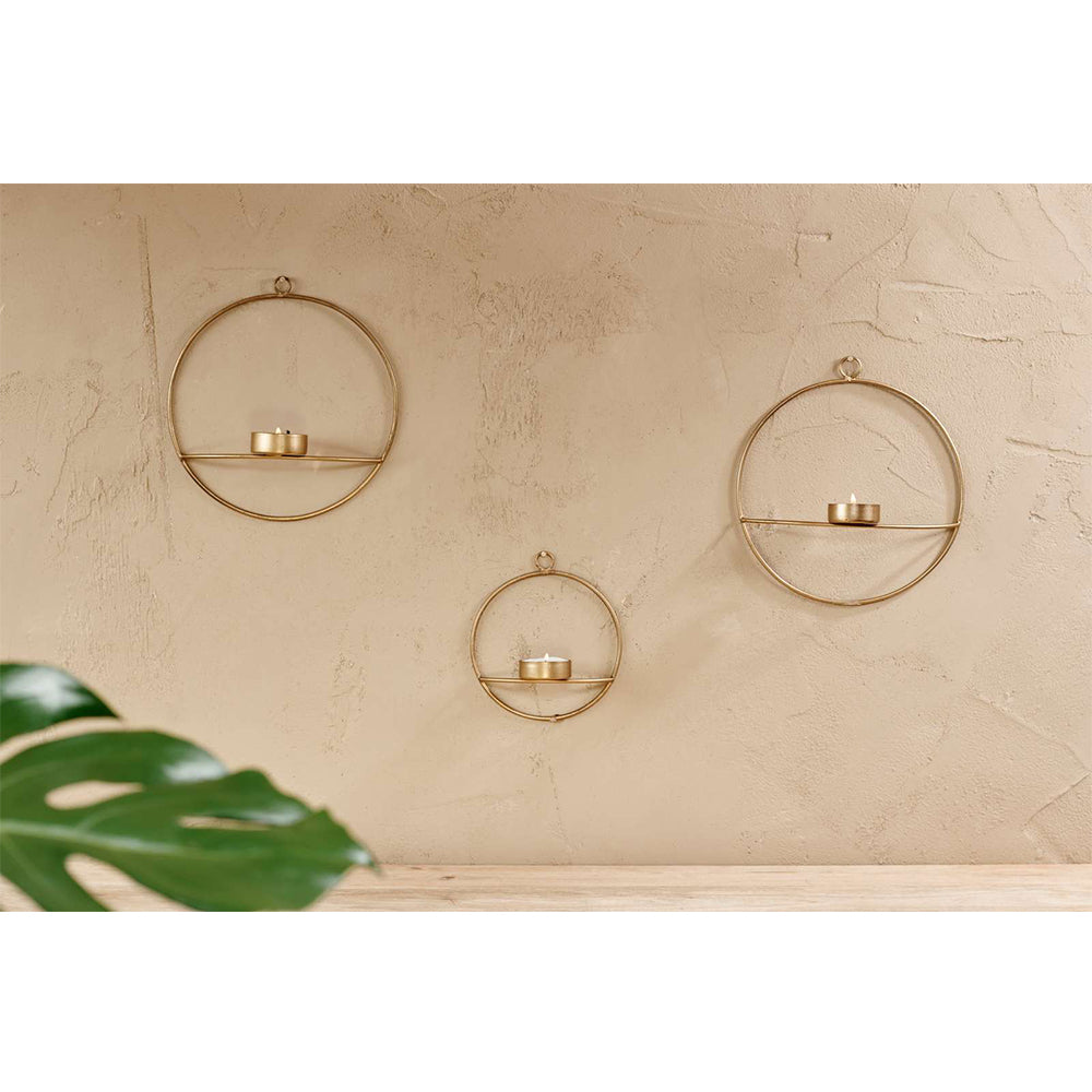Large Derwala Wall Hung T-Light