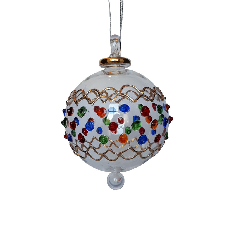 Circus Bauble in Multi Colour