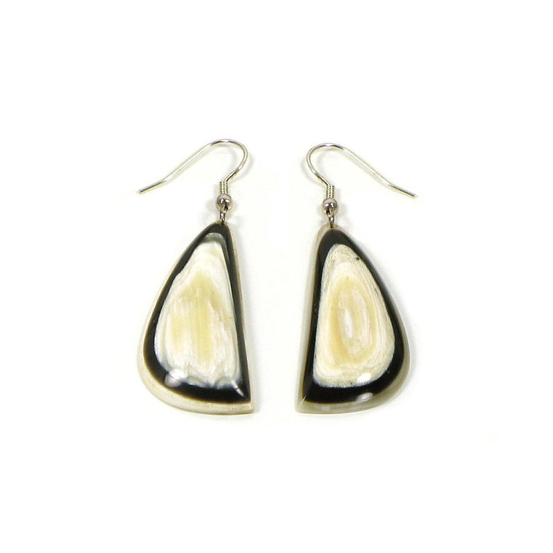 Layered Horn Earrings