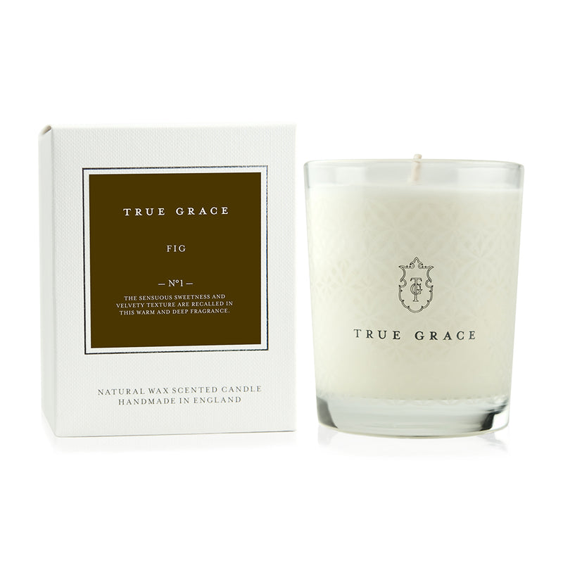 True Grace Fig candle (White Box)