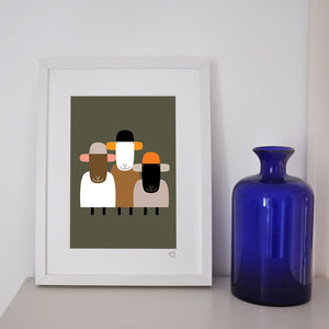 'Kids of today'  framed print.