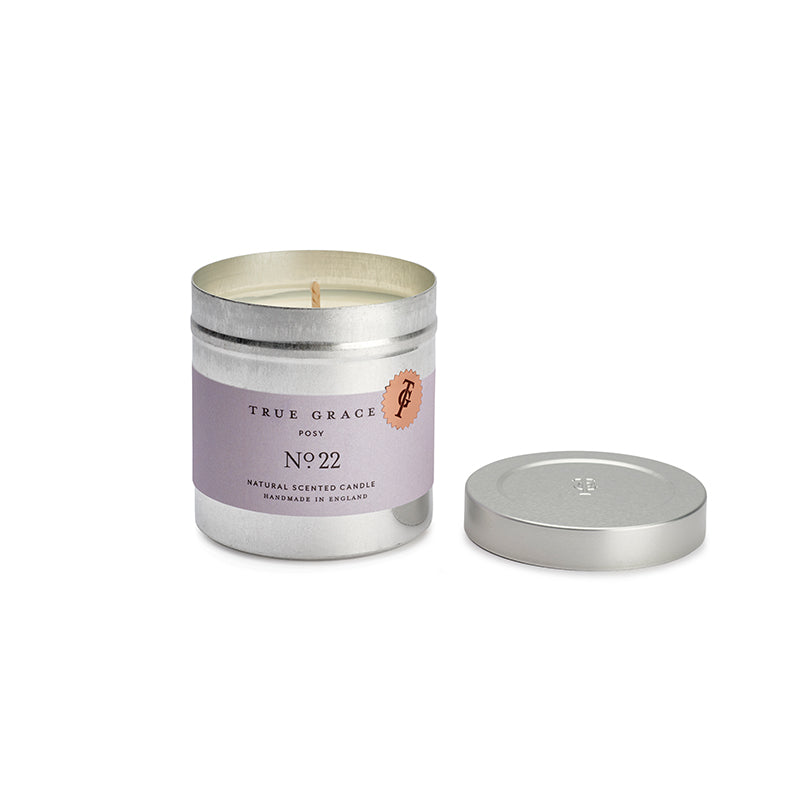 True Grace Posy Tin Candle