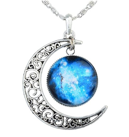 Cosmic Galaxy Necklace