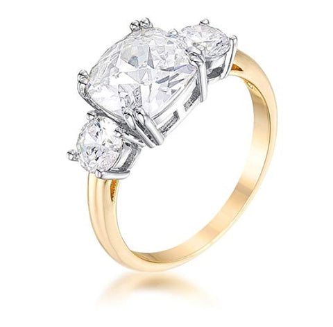 The Cushion Cut Royal Ring