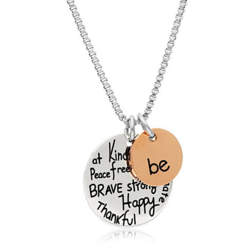 Gratitude Charm Necklace