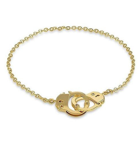 Golden Handcuff Anklet