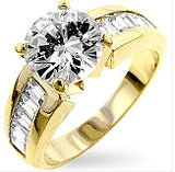 Antoinette Gold Engagement Ring