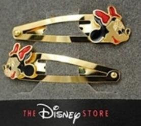 Disney Minnie Mouse Hair Barrette Set