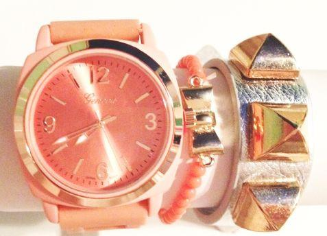 Sunburst Watch Stacking Set