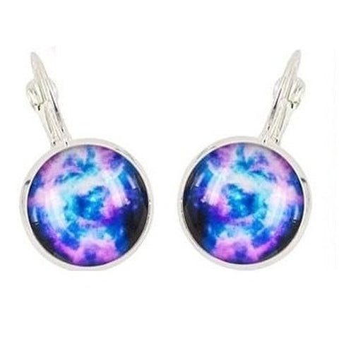 Cosmic Galaxy Earrings