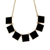 Statement Bib Choker Necklace