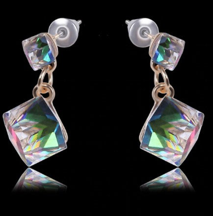 Crystal Hologram Earrings