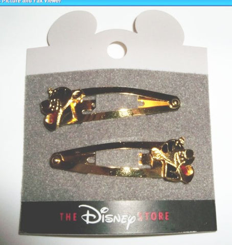 Disney Tigger Hair Barrette Set