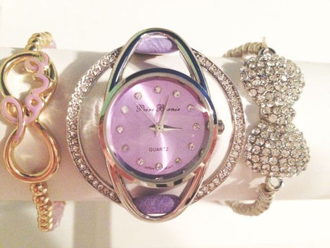 Lavender Dreams Watch Stacking Set