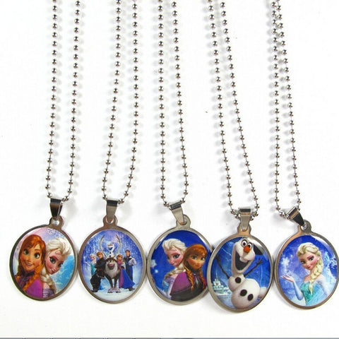 Disney's FROZEN Collection Pendant Necklace With *Free* Play Pack