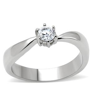 Stainless Steel Round Cut Ring