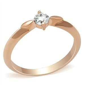 Rose Gold Promise Ring