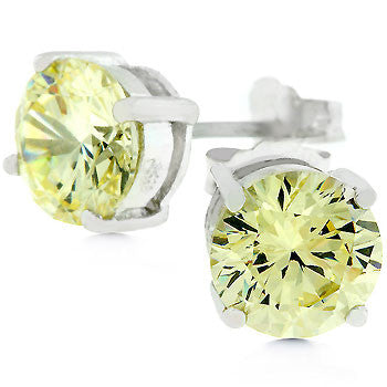 Jonquil Sterling Silver Stud Earrings