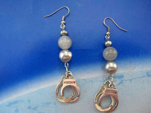 Handcuff Beaded Earrings